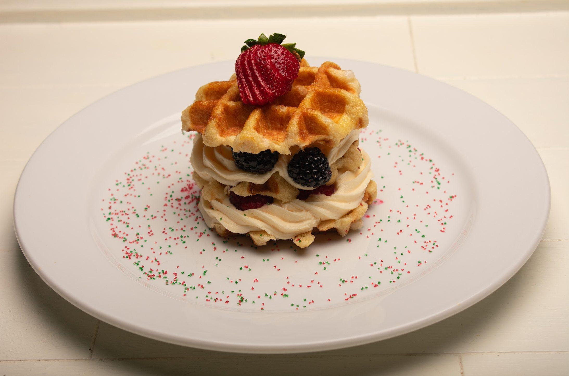 Waffle Napoleon